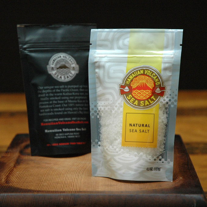 Natural Sea Salt 4.5 OZ Bag