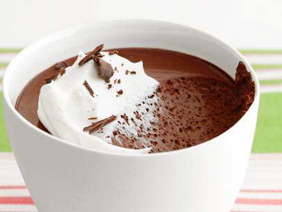 Salted Chocolate Pot-d-Crème Mousse