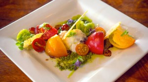 Heirloom Burrata Caprese