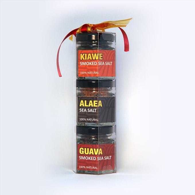 Kiawa Alaea Guava Salt Gift