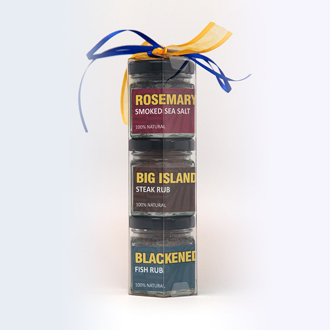 Rosemary Big Island Steak Rub Gift Pack