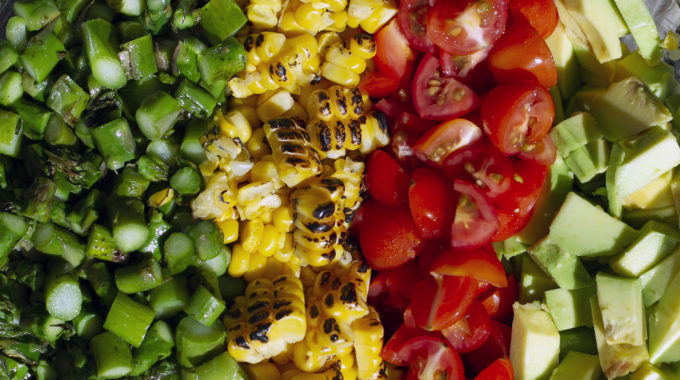 Deconstructed Summer Salad